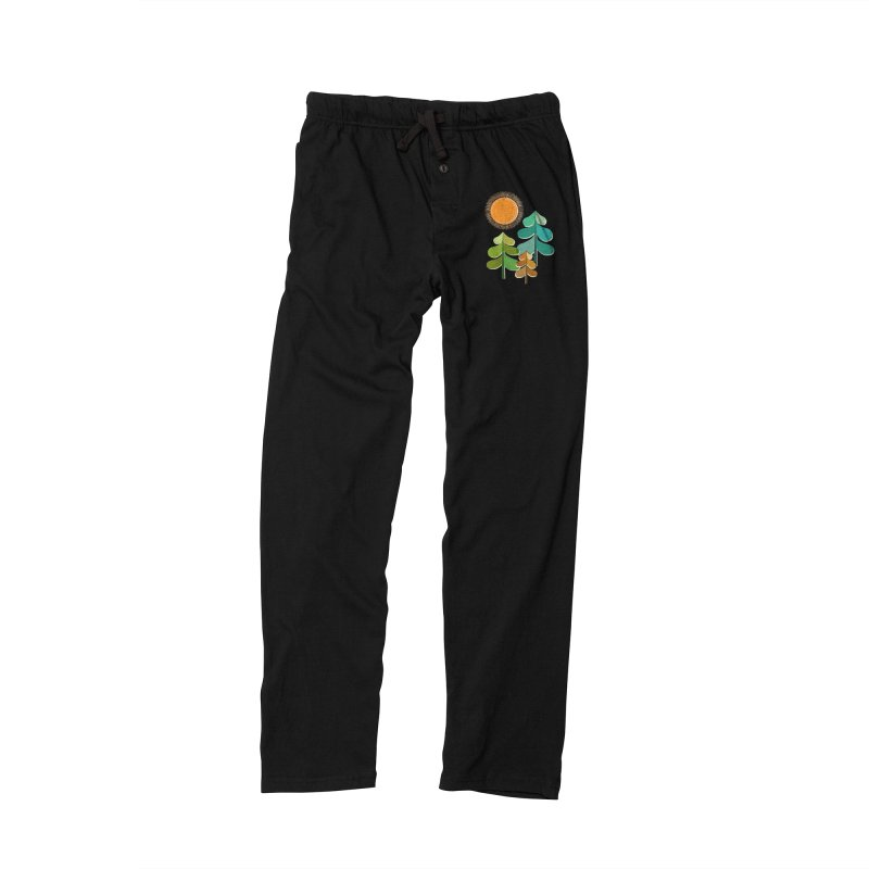 Golden Days Men's Lounge Pants by Jenny Tiffany's Artist Shop
