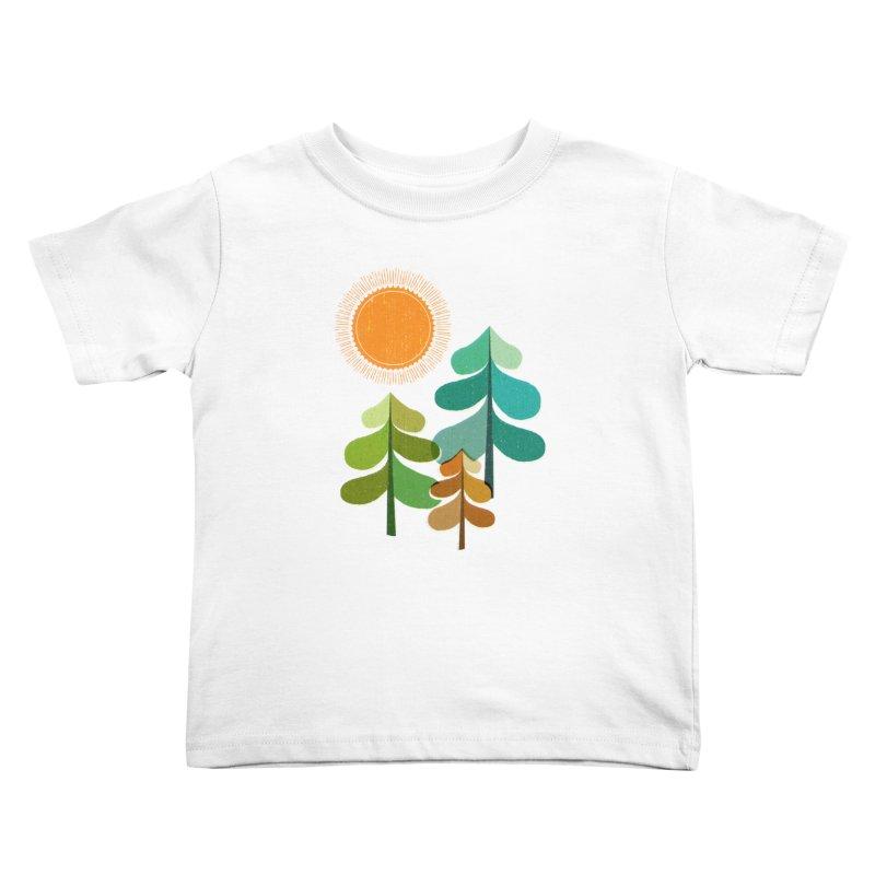 Golden Days Kids Toddler T-Shirt by Jenny Tiffany's Artist Shop