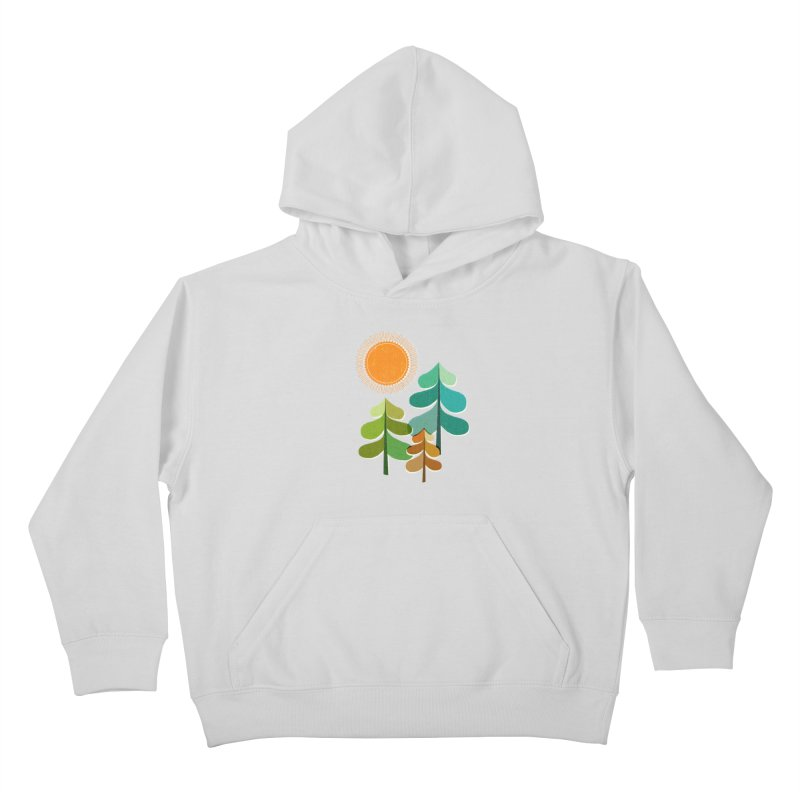 Golden Days Kids Pullover Hoody by Jenny Tiffany's Artist Shop