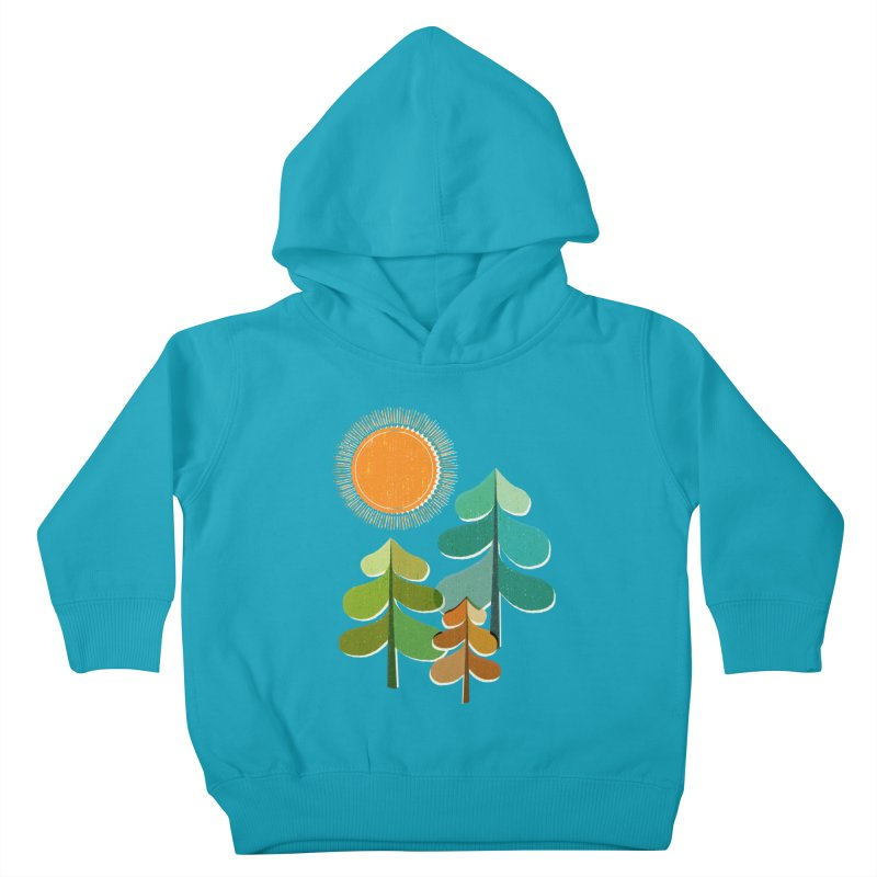 Golden Days Kids Toddler Pullover Hoody by Jenny Tiffany's Artist Shop