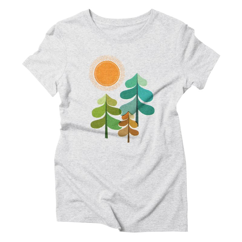 Golden Days Women's T-Shirt by Jenny Tiffany's Artist Shop