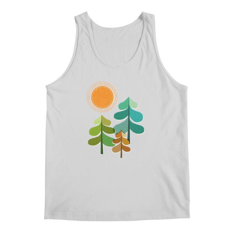 Golden Days Men's Regular Tank by Jenny Tiffany's Artist Shop