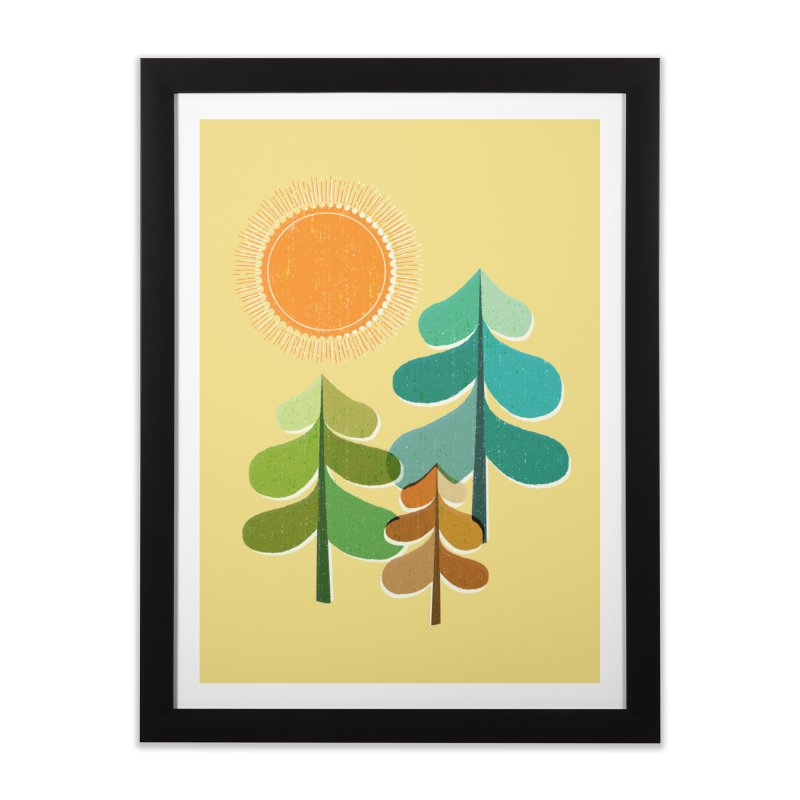 Golden Days Home Framed Fine Art Print by Jenny Tiffany's Artist Shop