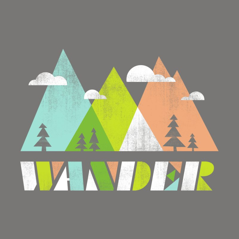 Wander Women's T-Shirt by Jenny Tiffany's Artist Shop