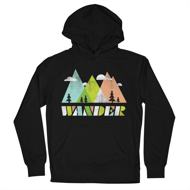 Wander Women's French Terry Pullover Hoody by Jenny Tiffany's Artist Shop