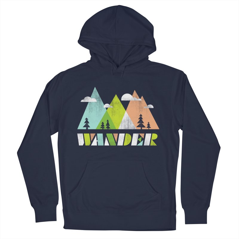 Wander Men's Pullover Hoody by Jenny Tiffany's Artist Shop