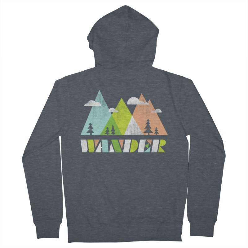 Wander Women's Zip-Up Hoody by Jenny Tiffany's Artist Shop