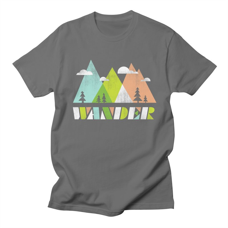 Wander Men's T-Shirt by Jenny Tiffany's Artist Shop