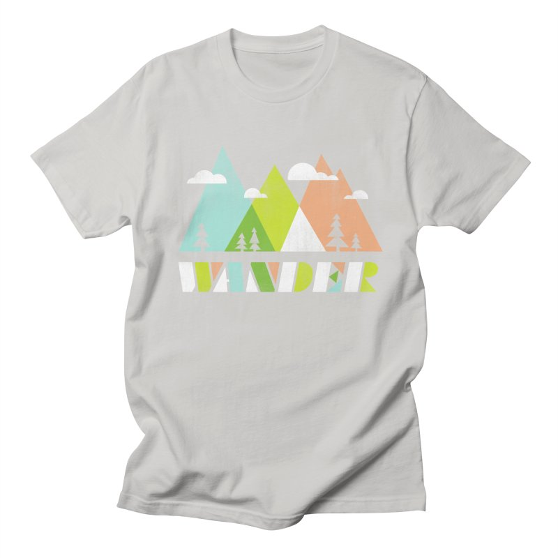 Wander Men's Regular T-Shirt by Jenny Tiffany's Artist Shop