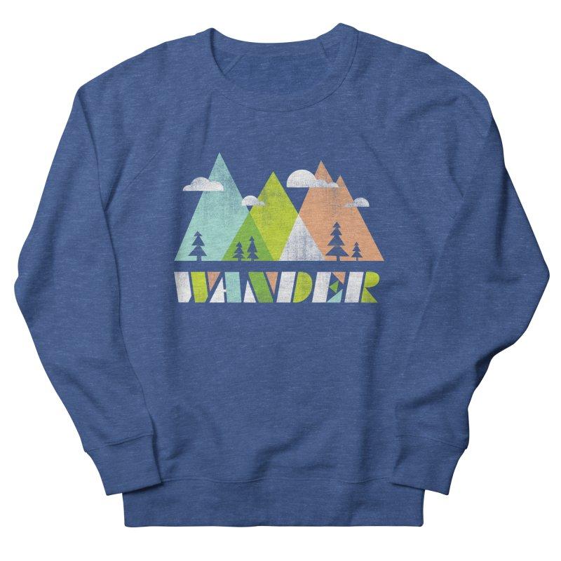 Wander Women's French Terry Sweatshirt by Jenny Tiffany's Artist Shop