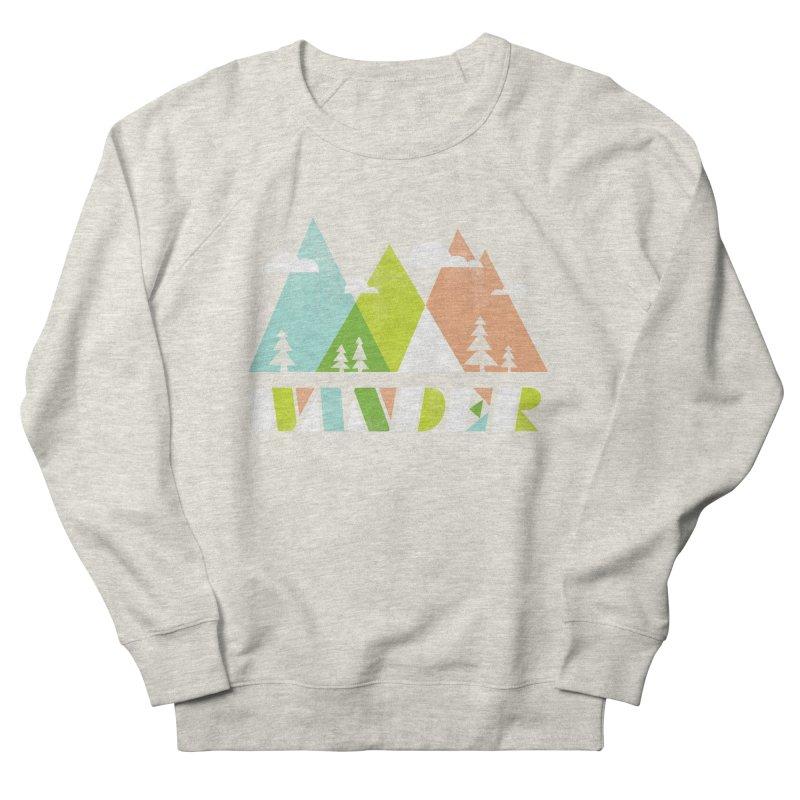 Wander Men's French Terry Sweatshirt by Jenny Tiffany's Artist Shop