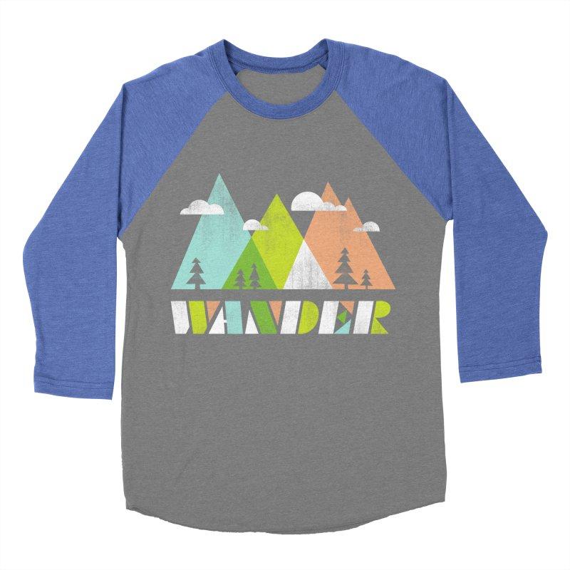 Wander Women's Baseball Triblend T-Shirt by Jenny Tiffany's Artist Shop