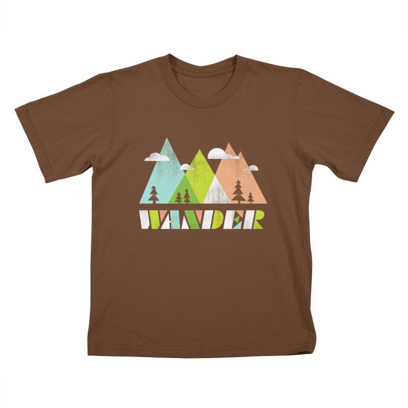 Wander Kids T-Shirt by Jenny Tiffany's Artist Shop
