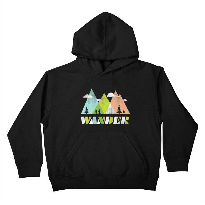 Wander Kids Pullover Hoody by Jenny Tiffany's Artist Shop