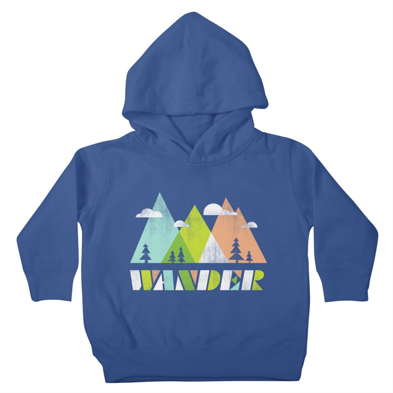 Wander Kids Toddler Pullover Hoody by Jenny Tiffany's Artist Shop