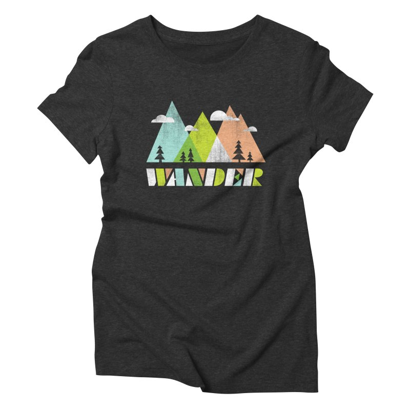 Wander Women's Triblend T-Shirt by Jenny Tiffany's Artist Shop