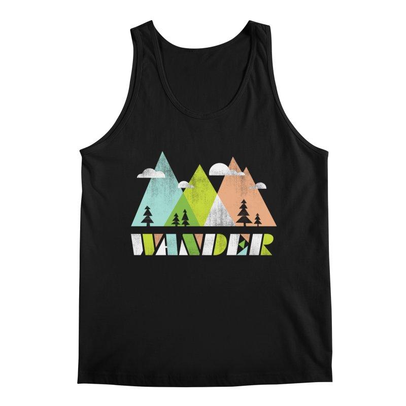 Wander Men's Regular Tank by Jenny Tiffany's Artist Shop