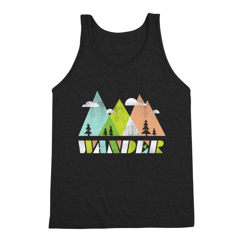 Wander Men's Tank by Jenny Tiffany's Artist Shop