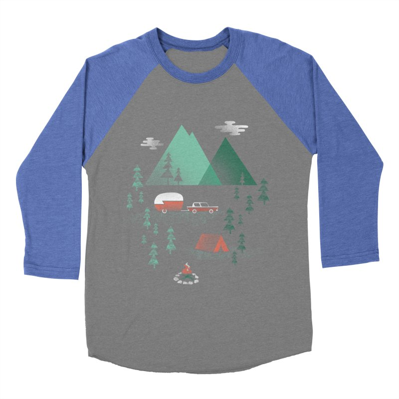 Pitch a Tent Women's Longsleeve T-Shirt by Jenny Tiffany's Artist Shop