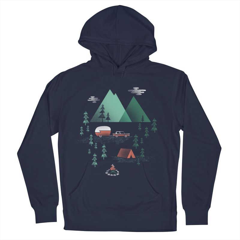 Pitch a Tent Men's Pullover Hoody by Jenny Tiffany's Artist Shop