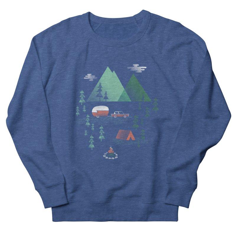 Pitch a Tent Women's Sweatshirt by Jenny Tiffany's Artist Shop
