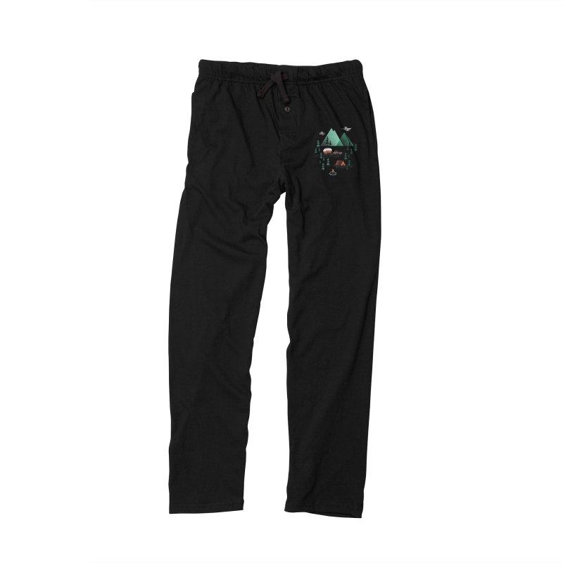 Pitch a Tent Men's Lounge Pants by Jenny Tiffany's Artist Shop