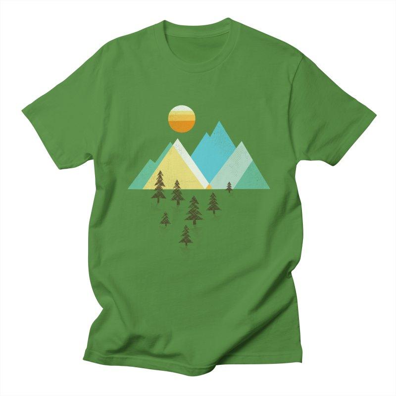 Asphalt Sun Men's Regular T-Shirt by Jenny Tiffany's Artist Shop