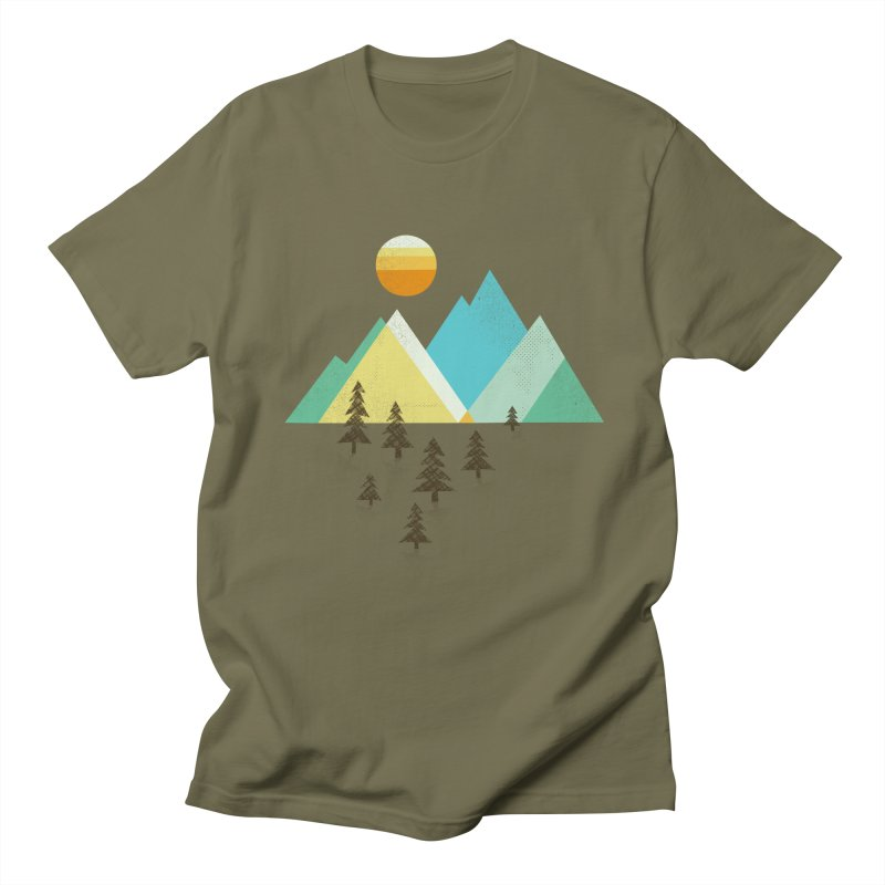Asphalt Sun Men's Regular T-Shirt by Jenny Tiffany's Artist Shop