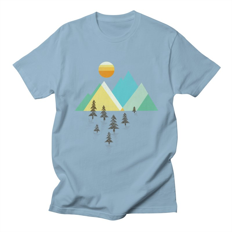 Asphalt Sun Men's T-shirt by Jenny Tiffany's Artist Shop