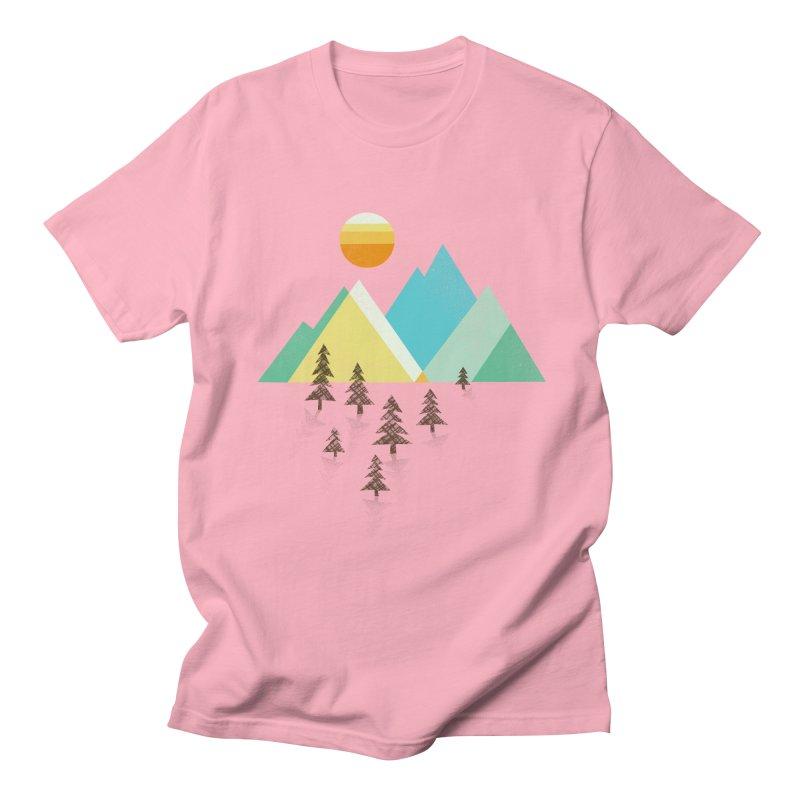 Asphalt Sun Men's T-Shirt by Jenny Tiffany's Artist Shop