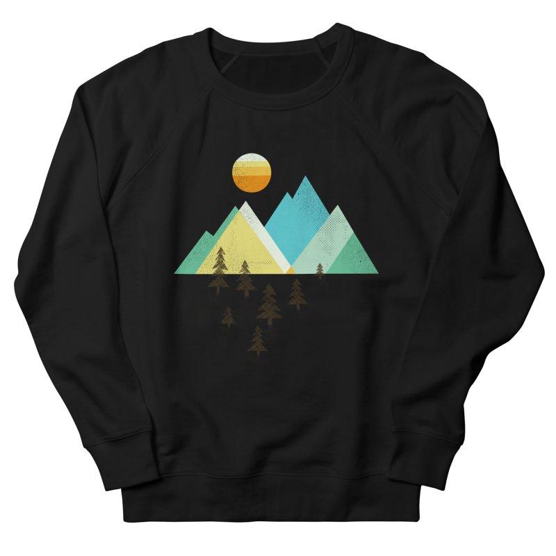 Asphalt Sun Men's French Terry Sweatshirt by Jenny Tiffany's Artist Shop