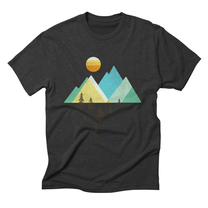 Asphalt Sun Men's Triblend T-Shirt by Jenny Tiffany's Artist Shop