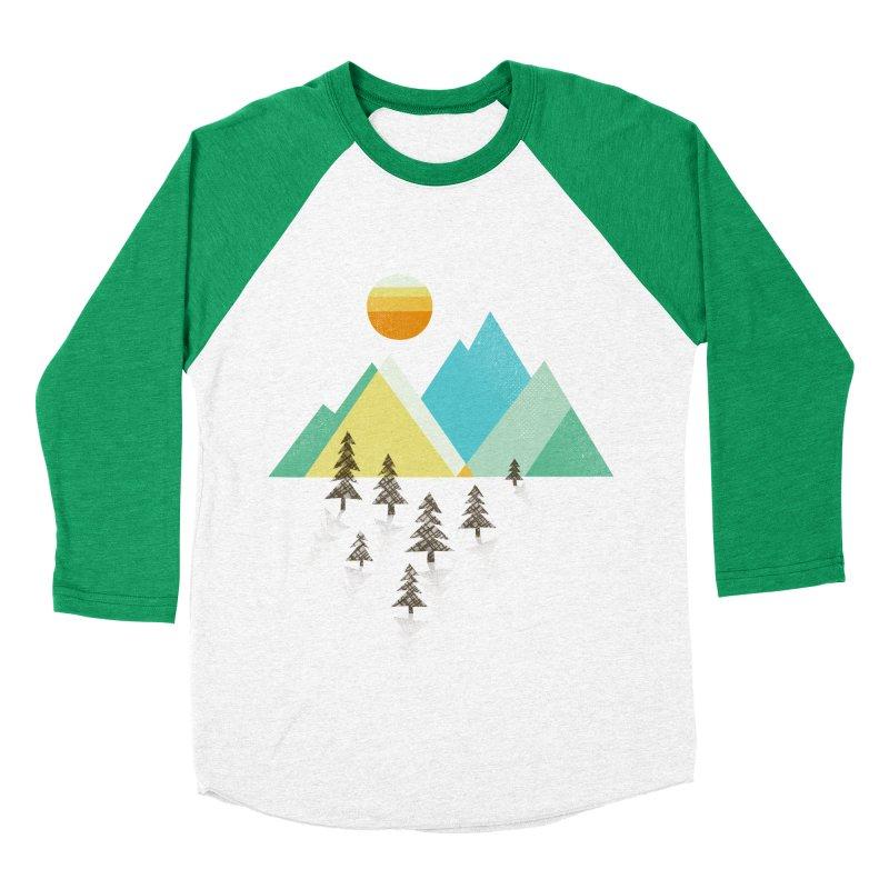 Asphalt Sun Women's Baseball Triblend Longsleeve T-Shirt by Jenny Tiffany's Artist Shop