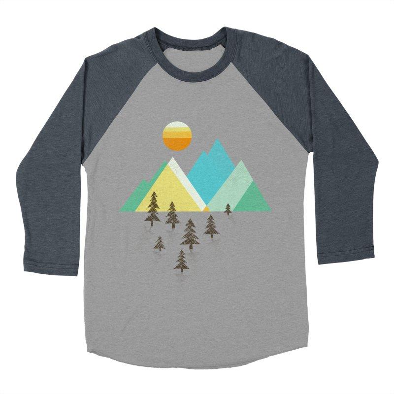Asphalt Sun Women's Baseball Triblend T-Shirt by Jenny Tiffany's Artist Shop