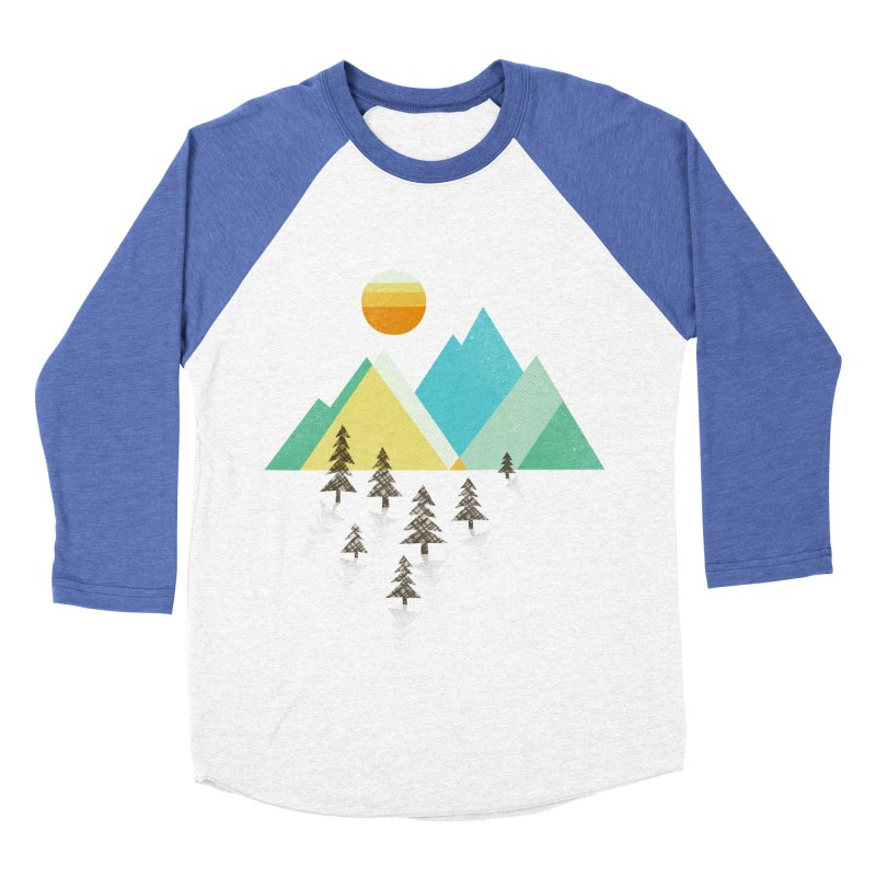 Asphalt Sun Men's Baseball Triblend T-Shirt by Jenny Tiffany's Artist Shop