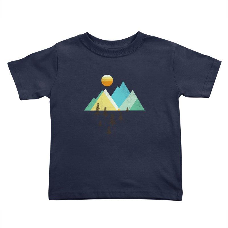Asphalt Sun Kids Toddler T-Shirt by Jenny Tiffany's Artist Shop