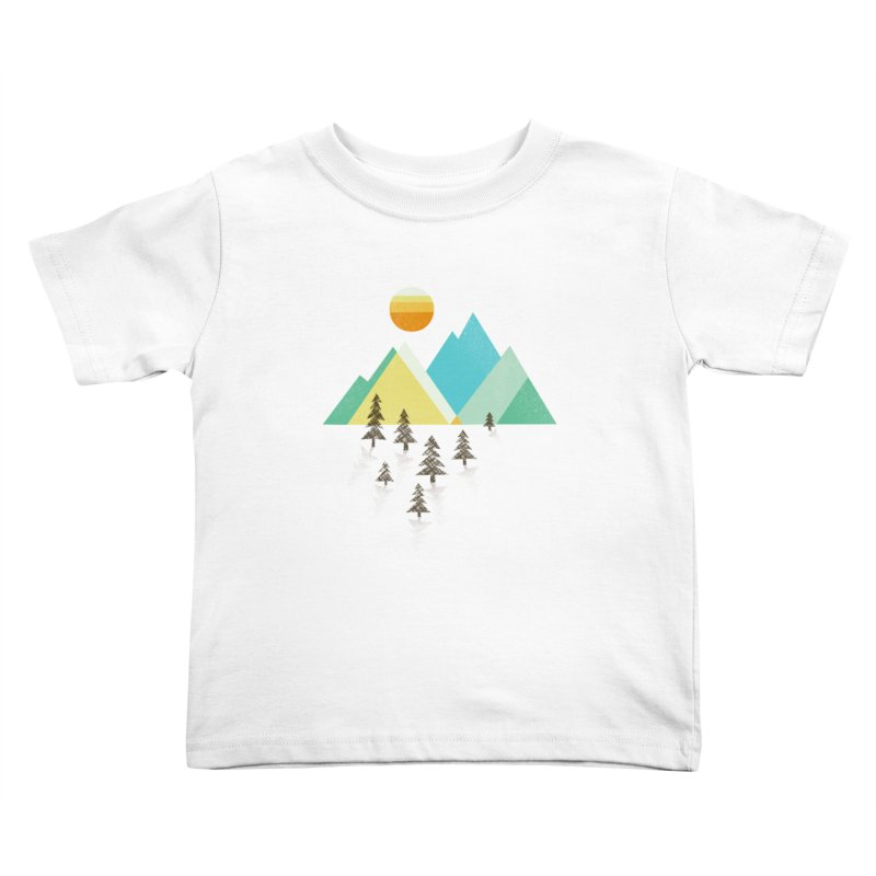 Asphalt Sun Kids Toddler T-Shirt by Jenny Tiffany's Artist Shop