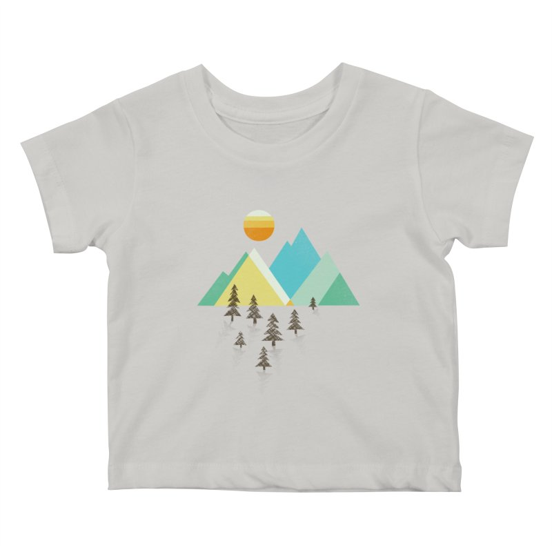 Asphalt Sun Kids Baby T-Shirt by Jenny Tiffany's Artist Shop