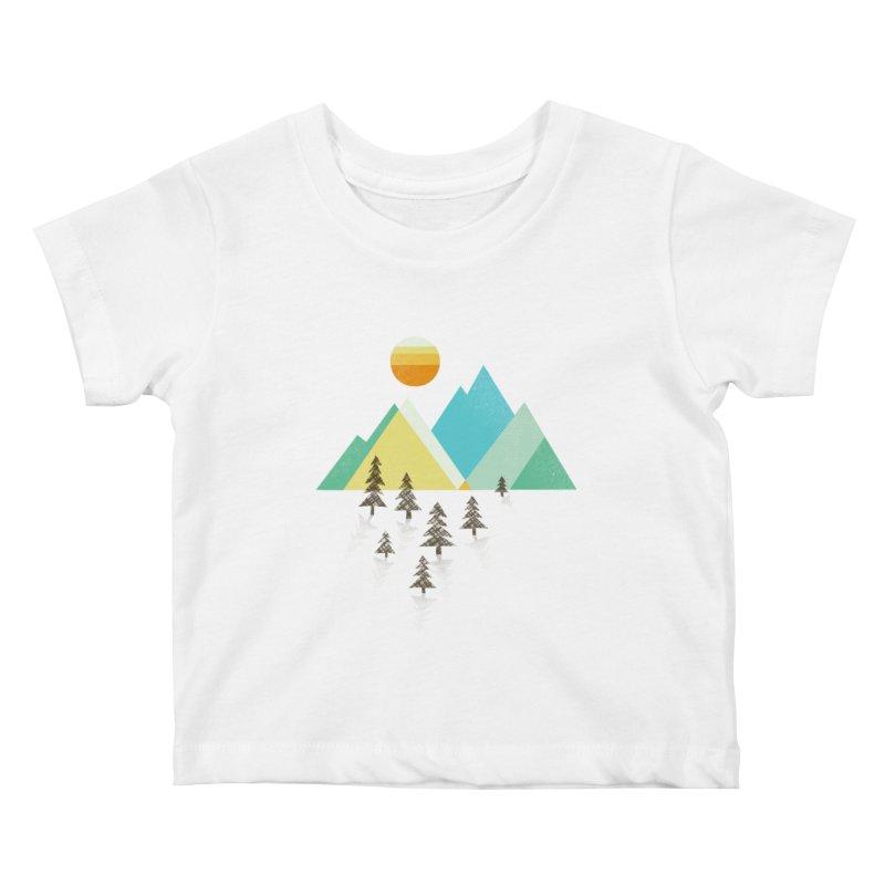 Asphalt Sun Kids Baby T-Shirt by Jenny Tiffany's Artist Shop