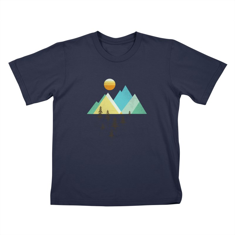 Asphalt Sun Kids T-Shirt by Jenny Tiffany's Artist Shop