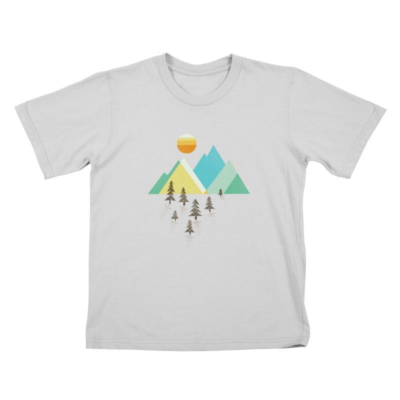 Asphalt Sun Kids T-Shirt by Jenny Tiffany's Artist Shop