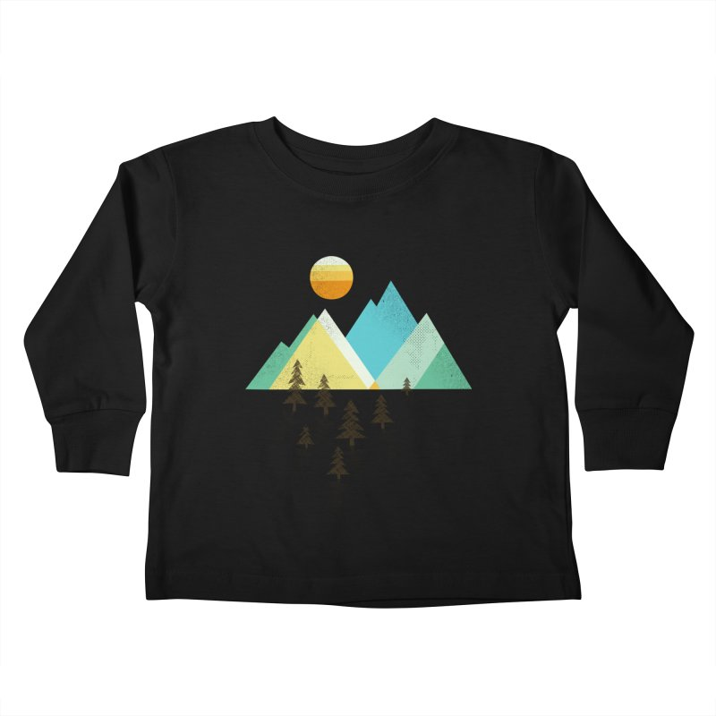 Asphalt Sun Kids Toddler Longsleeve T-Shirt by Jenny Tiffany's Artist Shop