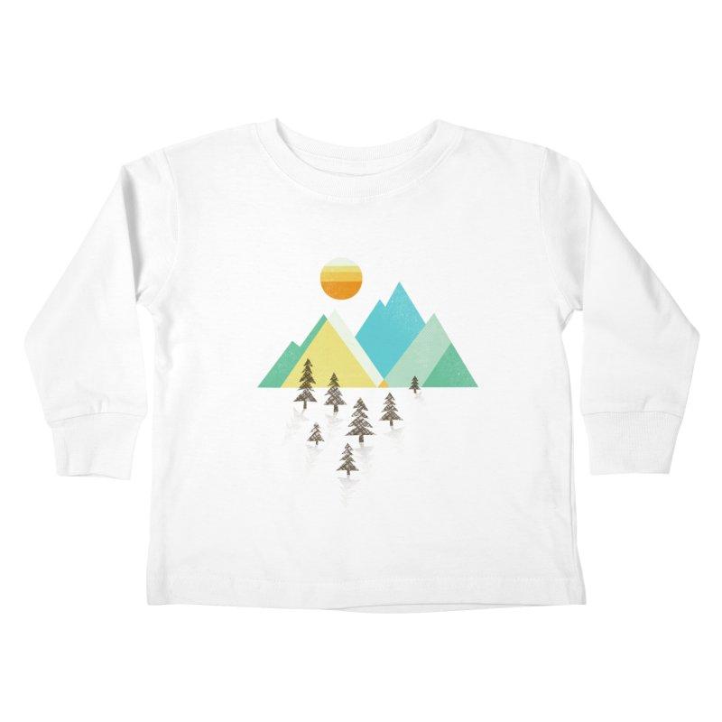 Asphalt Sun Kids Toddler Longsleeve T-Shirt by Jenny Tiffany's Artist Shop