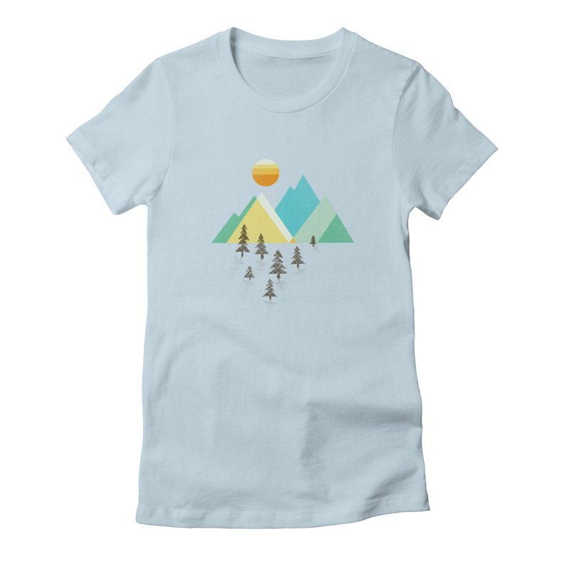 Asphalt Sun Women's T-Shirt by Jenny Tiffany's Artist Shop