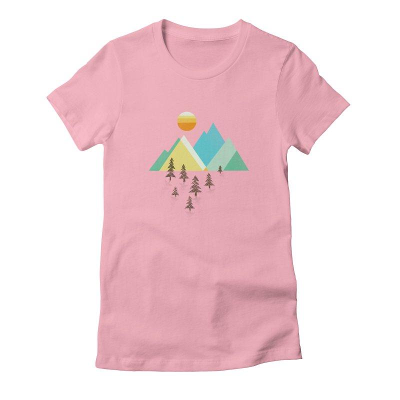 Asphalt Sun Women's T-Shirt by Jenny Tiffany's Artist Shop