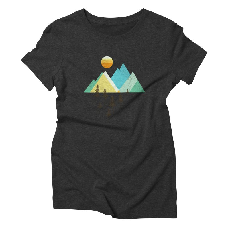 Asphalt Sun Women's Triblend T-Shirt by Jenny Tiffany's Artist Shop