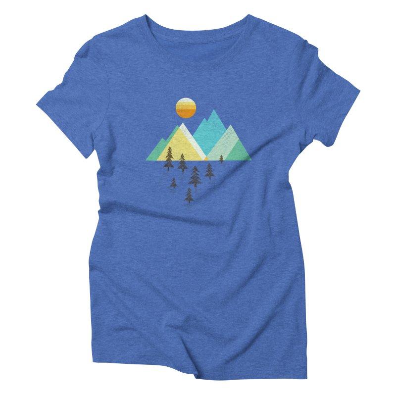 Asphalt Sun Women's Triblend T-Shirt by Jenny Tiffany's Artist Shop
