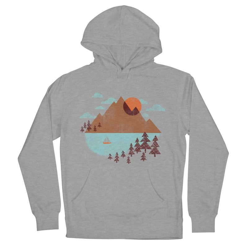 Indian summer Men's French Terry Pullover Hoody by Jenny Tiffany's Artist Shop