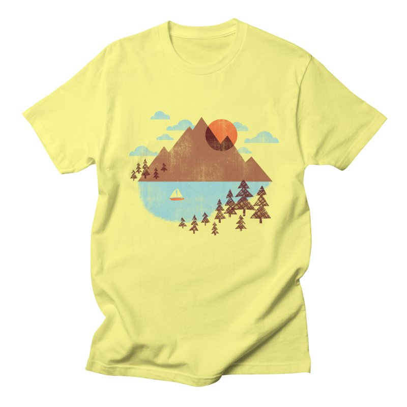 Indian summer Men's T-Shirt by Jenny Tiffany's Artist Shop