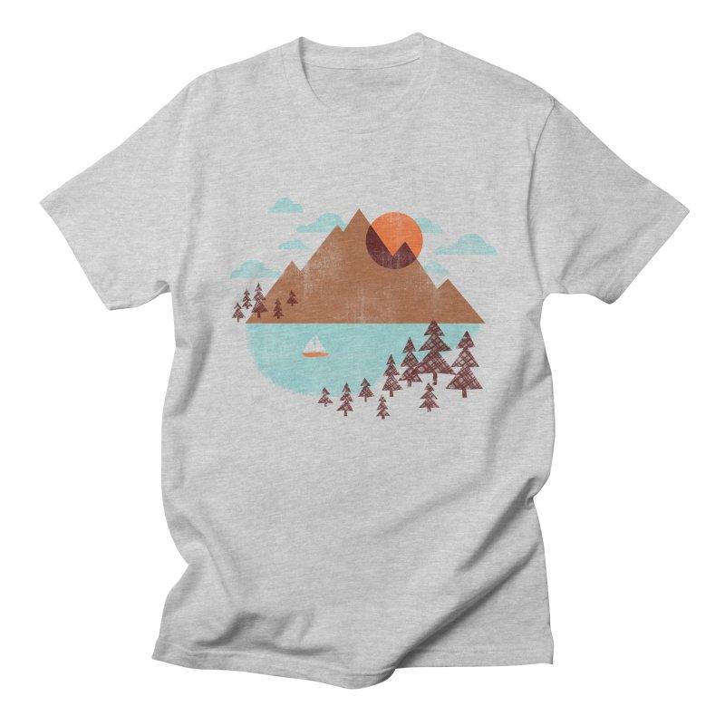 Indian summer Men's Regular T-Shirt by Jenny Tiffany's Artist Shop